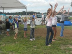 Dancing at the Park Party